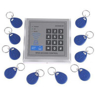 Wholesale RFID Proximity Entry Door Lock Access Control System with Key Fobs