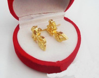 Wholesale Diamond earrings K gold plated earrings Fashion earrings Pairs