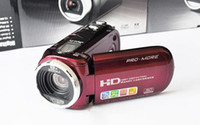 Wholesale Brand New C4 Mini DV Digital Camcorder HD Camera quot LCD X Zoom Black Red Color Free Ship