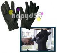 Wholesale 1pair grade anti cut glove cut resistant anti knife gloves wear resistant anti acid anti microwave