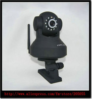 Wholesale Foscam discount hot Wireless IP Camera Wifi LED Night Vision Black Foscam FI8918W CCTV WiFi Wir