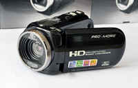 Wholesale C4 Mini DV Digital Camcorder HD Camera quot LCD X Zoom Black Red Color EMS