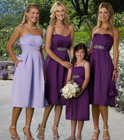 Reference Images Beads Sleeveless Satin Bridal Party Gown Sweetheart Short Slim Skirt Chic Pocket Design Outdoor Bridesmaid Dresses