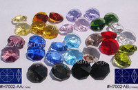 Crystal assorted glass beads - Factory Direct Selling AAA Quality Guaranteed Assorted Colours mm mm Crystal Octagon Beads