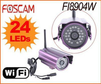 Wholesale FOSCAM FI8904W Wireless WiFi CCTV Camera Network IR Security Camera Waterproof IP Camera