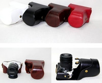 Wholesale New Leather case bag Panasonic Lumix DMC GF3 camera color