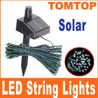Wholesale Solar LED String Lights Decoration For Christmas Tree birthday Party Outdoor Garden home H4191