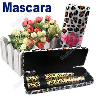 Wholesale 2 Magic Leopard Lashes Fiber Mascara Brush Eye Black Long Makeup Eyelash Grower HK Post