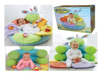 Wholesale ELC Blossom Farm Sit Me Up Cosy Baby Seat Baby Play Mat Play Nest Soft Sofa Green Color