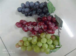 Wholesale HOt sale high quality Artificial Fake Fruit Artificial Grapes Home wedding party Decorative mixed order