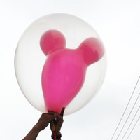 Wholesale Latex Balloon inch Transparent Round Balloon Giant Balloon for Wedding Party Decoration Kids Toys
