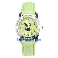 Wholesale Diamond Stone Playboy Watch Lady Diamond Leather Watches W027
