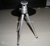 Wholesale Hot Portable silver cm Mini Tripod Stand for Digital Camera