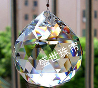 Wholesale Factory Direct Selling AAA Quality mm mm mm K9 Clear Colour Crystal Faceted Balls
