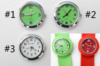 Wholesale 900pcs colored face watch numbers kid watch Fashion rubber watches child quartz watch