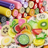 Nail Art 3D Decoration fimo canes - 500 Design D Nailart Nail Art Polish Fimo Canes Rods Sticks Polymer clay strip Soft clay slice