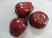 decorative fruit - Large apples home Decorative fruit fake fruit Plastic Artificial Fruits wedding party decorations supply
