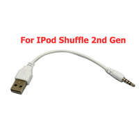 Wholesale USB Data Cable For IPod Shuffle nd Gen New generic Ship From USA IF504