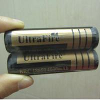 Wholesale Free FEDEX Ultrafire v mah Battery PCB Board for led flashlight Lamp Light Torch