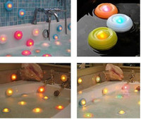 Wholesale Colorful LED Tub Lights Bathroom Light SPA Light Bubble Light UFO Recon Light