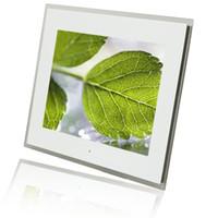 digital frame - 15 quot LCD Wide Screen Digital Photo Frame Multi media PDF Digital Clock Calendar White Brand New E00120
