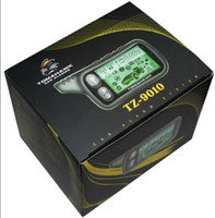 Wholesale HIGH QUALITY TZ9010 two way car alarm with engine starter with siren