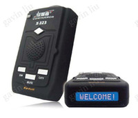 Wireless Guangdong China (Mainland) Conqueror 100% Orginal Radar Detector Conqueror X323 full coverage of X, K, Ka, Ku, & Laser operating bands