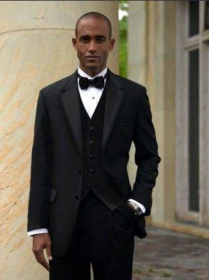 High Quality Black Groom Tuxedos Men's Wedding Dress Prom ...