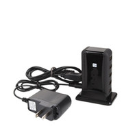 Wholesale USB HUB Powered Port high speed Free AC Adapter Black Ship From USA CV054BL