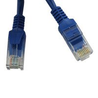 Wholesale 6FT Cat5 Cat5e RJ45 Network Cable Ethernet LAN Network Cable New CL144BU