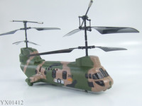 Ready-to-Go 3ch helicopter - CH RC Helicopter Emax Double Co Axial Chinook Worlds First RTF Tandem Rotor radio