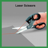 Wholesale New Laser Guided Fabric Scissors Cuts BK011 CF