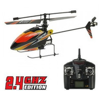Wholesale 2 Ghz CH V911 V RC Helicopter cm single propeller Radio Remote Control Children s toys