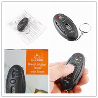 Wholesale Breath Alcohol Analyser Tester Key Chain with LCD Display hot sale