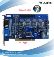 Wholesale 16 cameras GV800 V4 GV DVR card support Windows bit