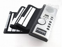 Wholesale New arrive keys with midi electronic roll up soft keyboard hand rolled piano