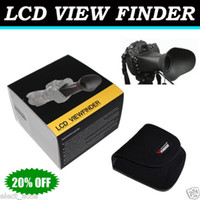 Wholesale 3 quot LCD ViewFinder Extender for Canon D Mark II D D with retail box
