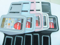 No Leather For Apple iPhone Brand New!Sports Armband Arm Band for 5 Color Choose HOT!!5pcs lot