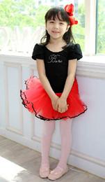 Wholesale Children s ballet skirt tutu dance dress girls s dancing dress baby skirt