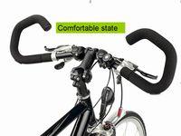 Handlebars bicycling germany - Germany HUMPERT X ACT bicycle handlebar adjustable butterfly folding rest handlebars