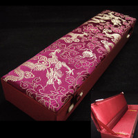 beautiful jewellery boxes - Beautiful Necklace Boxes Storage Mix Color Pattern inch Silk Fabric Jewellery Case