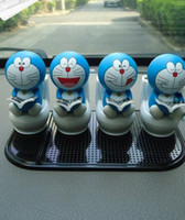 Wholesale freeshipping NEW The best selling Huomeng solar doll sitting jingle cats