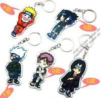 Pendant no  New 200pcs Classic Japan Naruto Action Figures Dolls Naruto key ring keychain 1 set=5pcs pendant GJ3