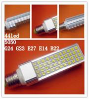 LED Spot light 44led 11W 85- 265V super light E27 14 G23 24 B...