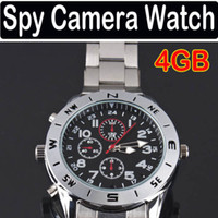 Wholesale 4GB Mini Spy Watch Video Recorder Hidden Camera DVR HD Camcorder G USB CABLE