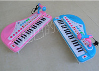 Wholesale lowest price key multi function electronic piano with power line children s toys