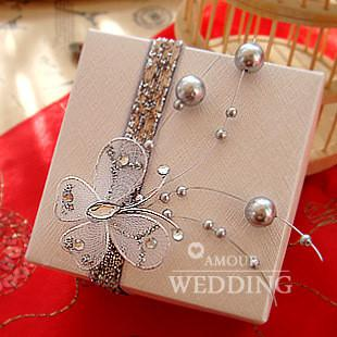 How To Wrap A Wedding Gift Box : ... wedding gift box, candy boxes with butterfly decoration, gift package