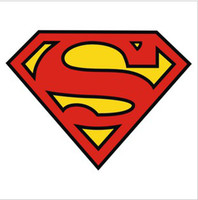Wholesale 50pcs superman sticker pvc sticker motor sticker wall decoration sticker refrigerator sticker