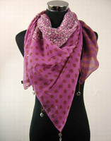 Wholesale Womens gilrs Square Scarf Pendant SCARVES neck scarf scarf Scarves