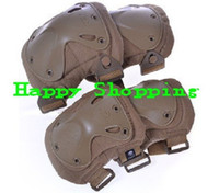Wholesale tactical knee and elbow protector pads set Sand